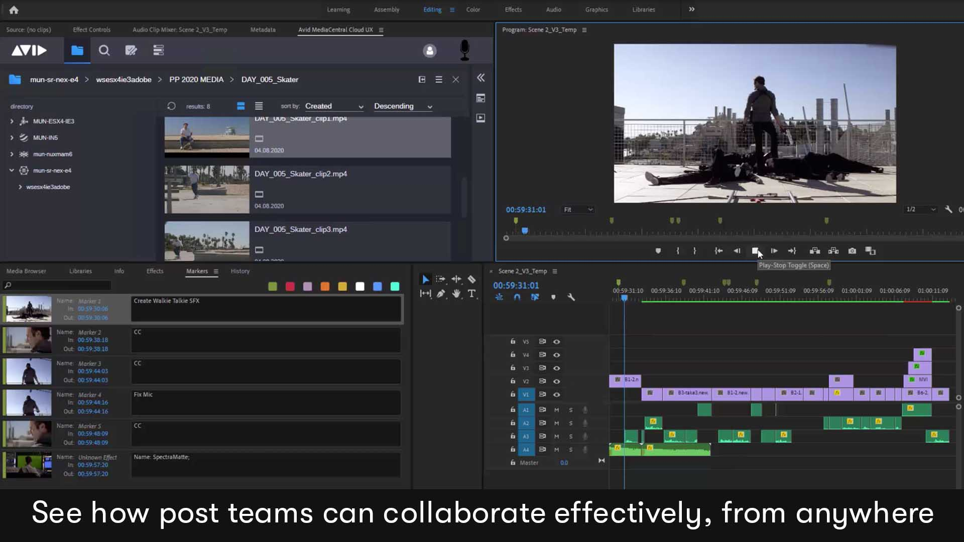 Share Assets Easily In A Premiere Pro Workflow With Avid