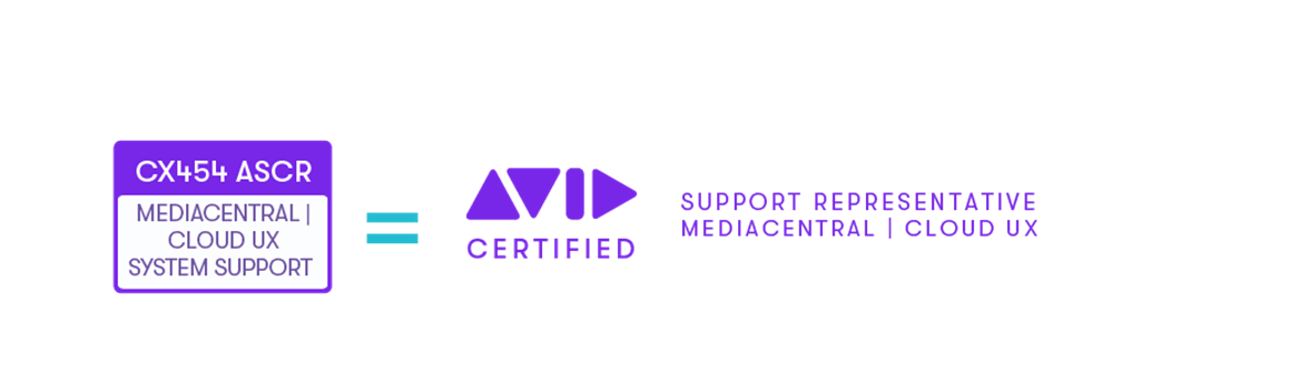 Certification path to obtain Avid Certified Support Representative: MediaCentral Platform