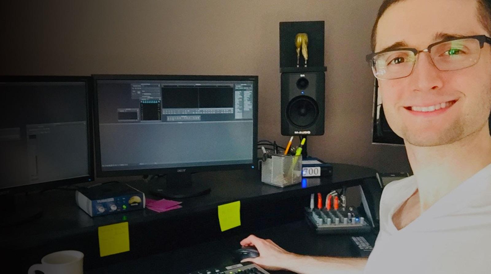 Mason Carden a career video editor using Media Composer