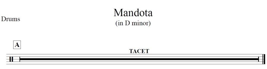 mandota-drums