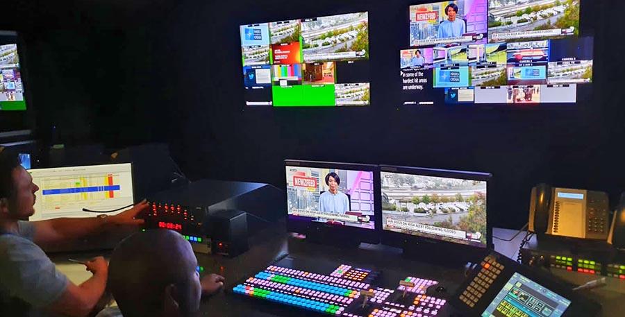 Newzroom Afrika control room