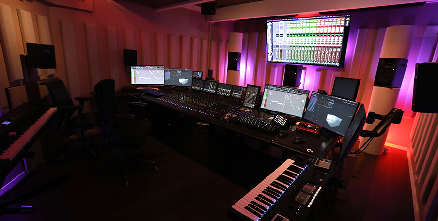 Jonathan Wales' home studio equipped with Dolby Atmos