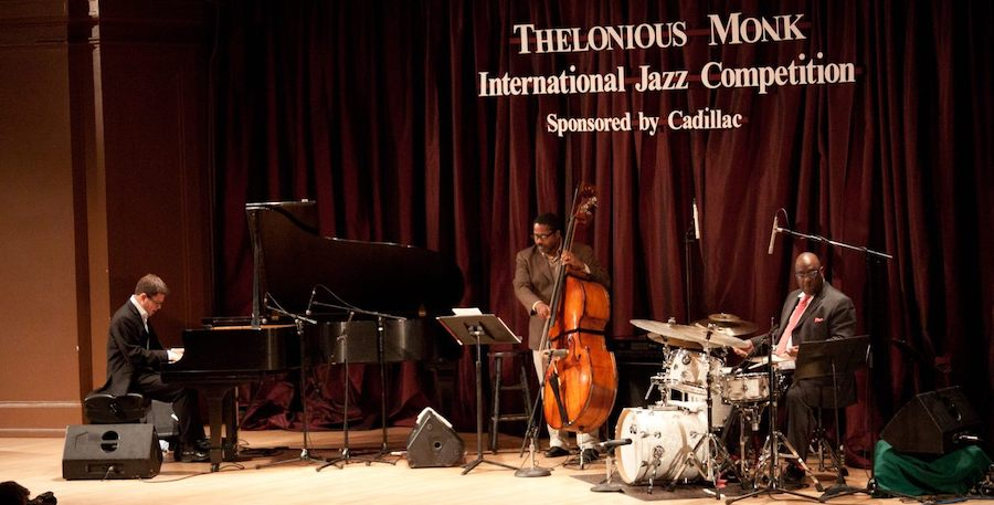 Steven Feifke playing at the Thelonius Monk competition