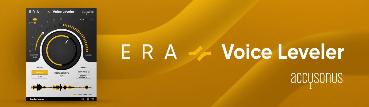 Auto-correct volume levels in music and video with ERA Voice Leveler