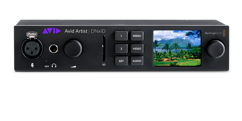 Avid Artist DNxID Portable Hardware 4k Video Editing Front