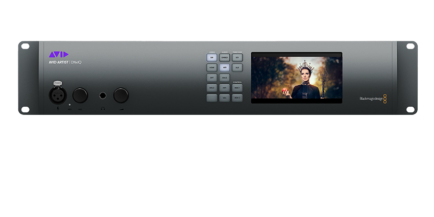 Avid Artist DNxIQ Video Capture HDR Hardware front
