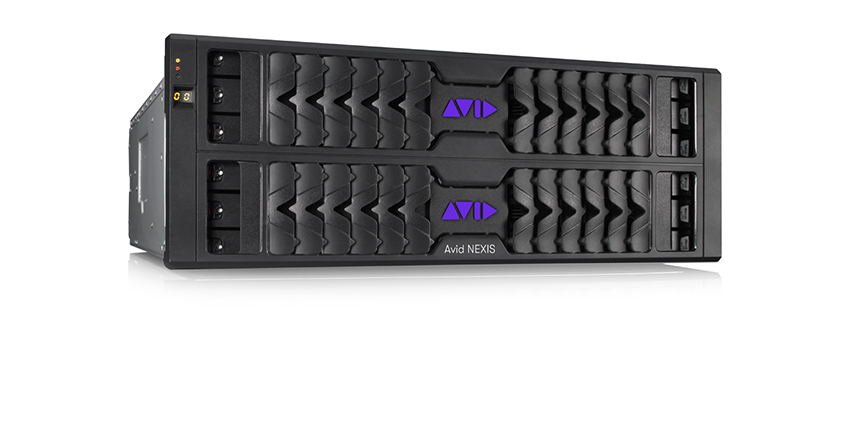 Avid NEXIS Post Production Video Storage Hardware