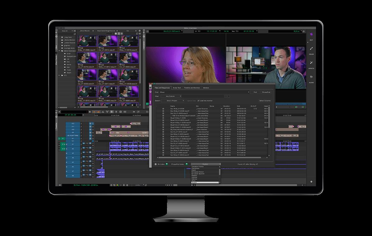 Video Editing Software Media Composer Avid