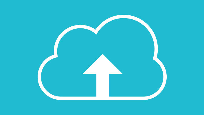 Avid Premium Cloud Plans logo showing a line drawing of a cloud with an arrow pointing up