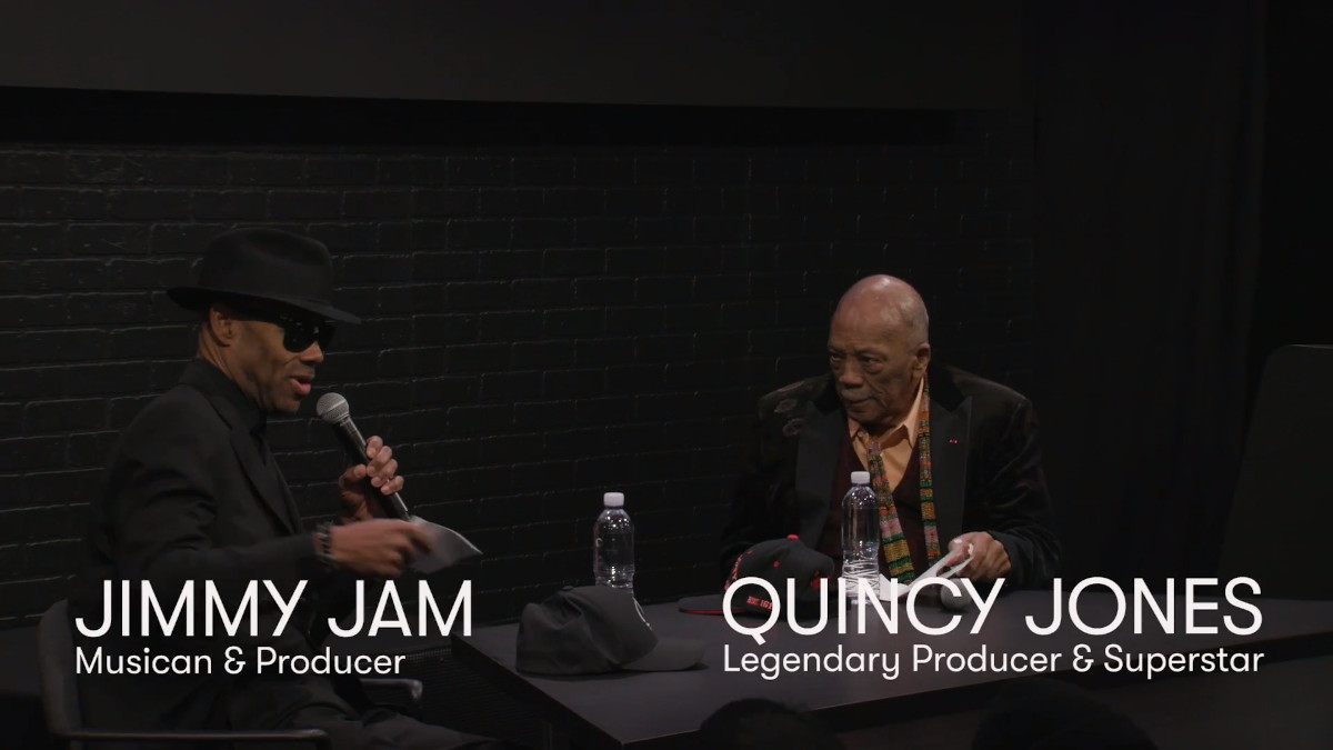 Avid, in partnership with BMG, was proud to welcome the legendary Quincy Jones to our NAMM main stage. One of music's most treasured icons will be interviewed by legendary music producer and music superstar in his own right, Jimmy Jam!