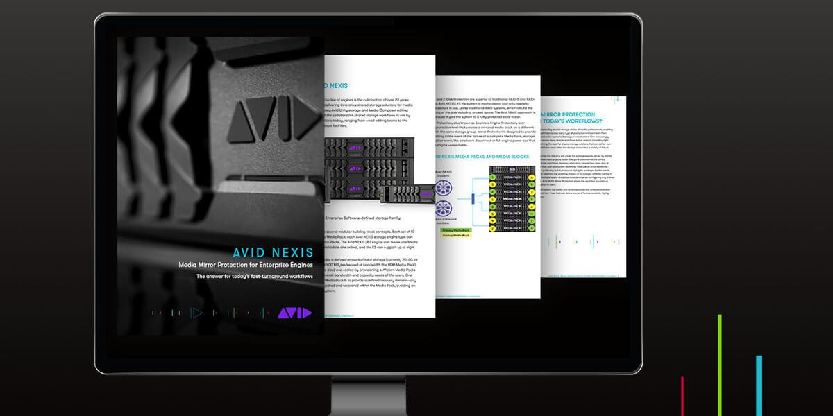 NEXIS White Paper in monitor