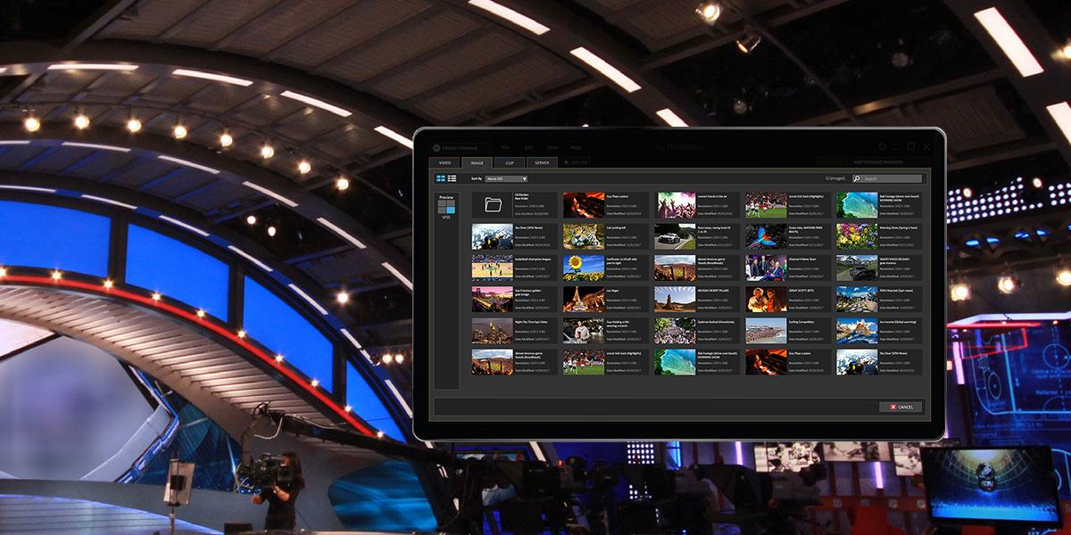 Maestro TD Control video wall controller in studio