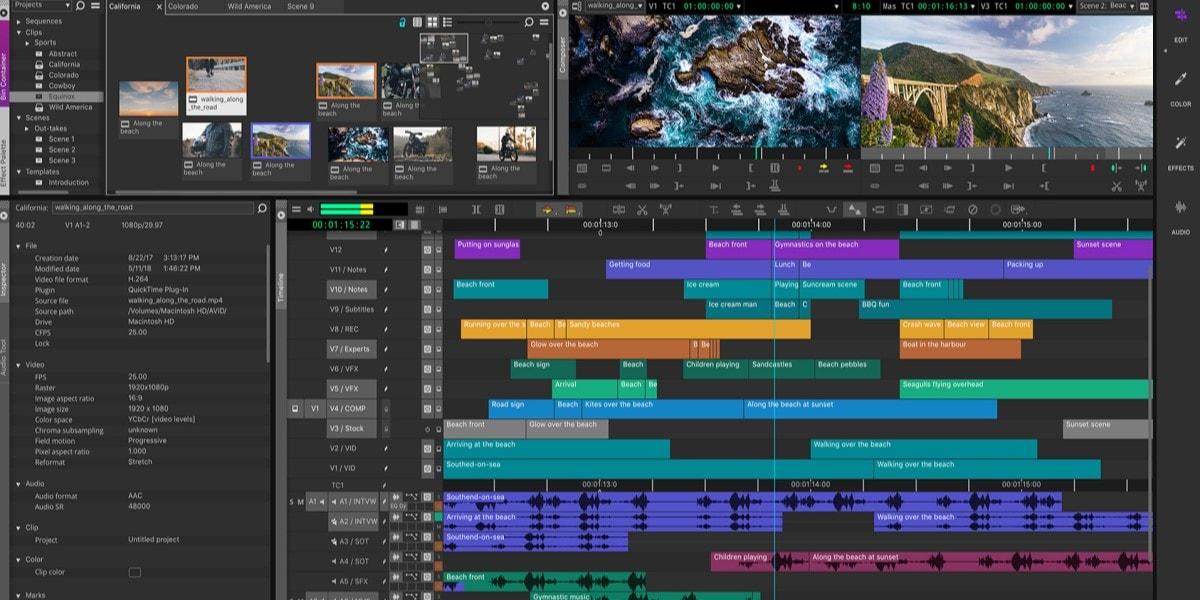 avid video editing software free download full version