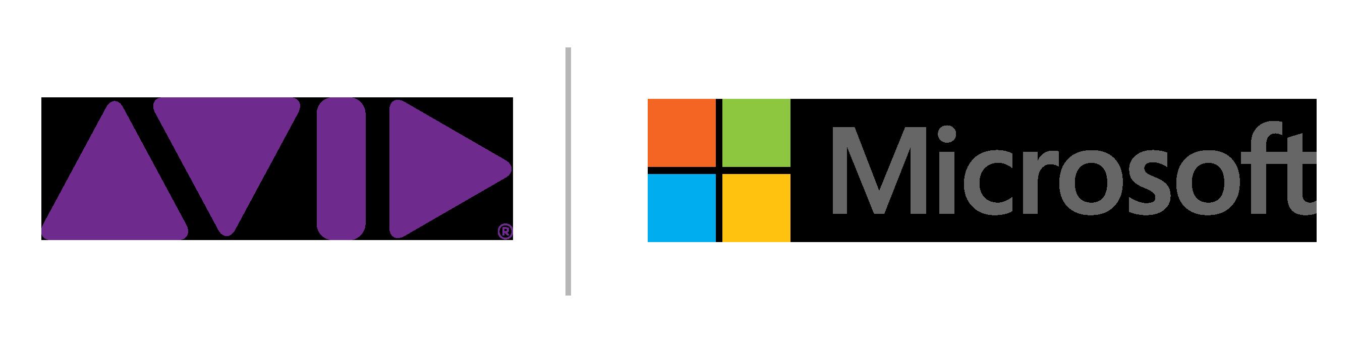 Microsoft logo-n-avid