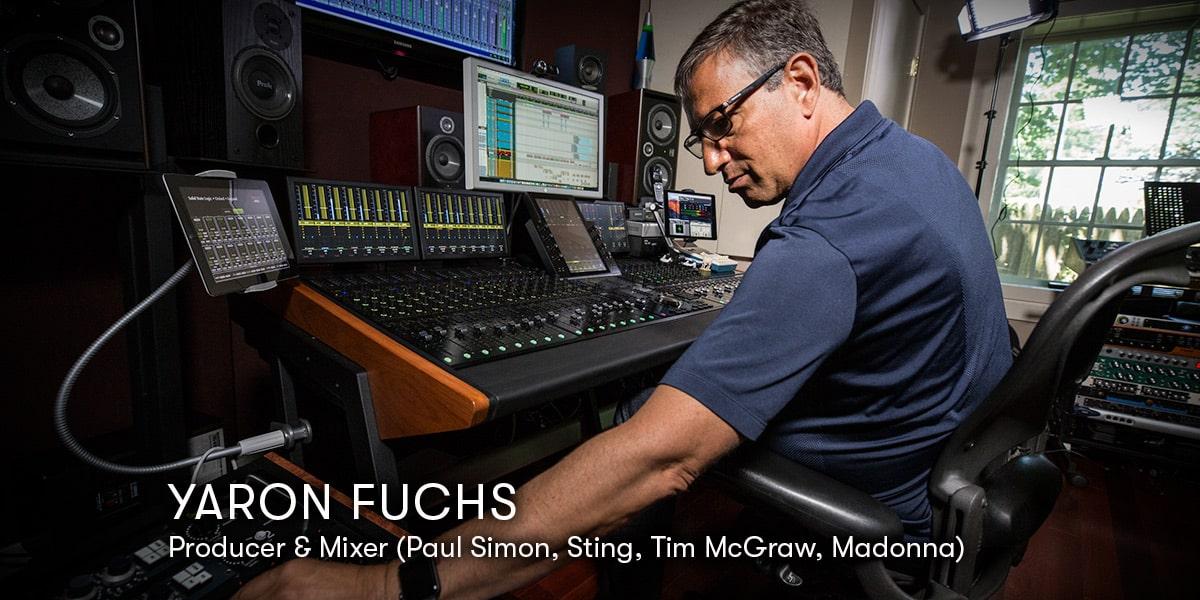 Music Production  Yaron Fuchs Home Studio Set Up