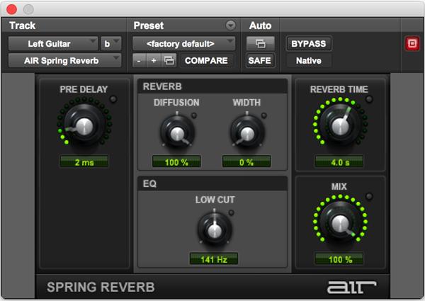 AIR Spring Reverb