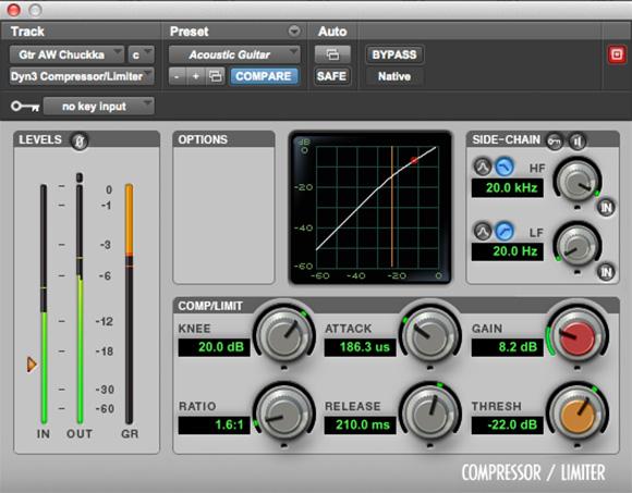 Dynamics plugin bundle for audio