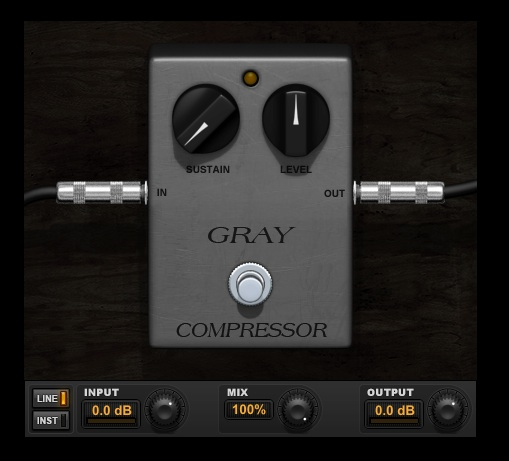 Ross Gray Compressor plugin for Pro Tools