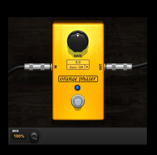 Orange Phaser mxr phase 90 plugin for Pro Tools