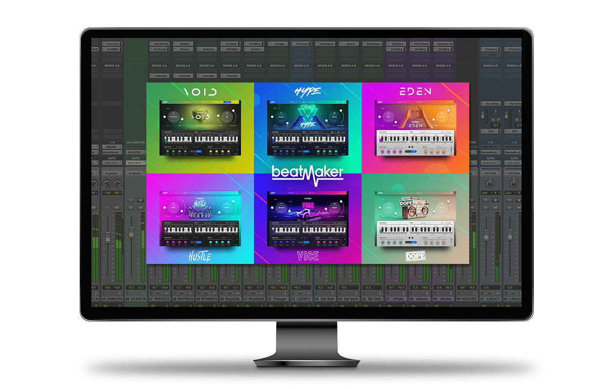 Beatmaker Bundle Audio Plugin Pro Tools
