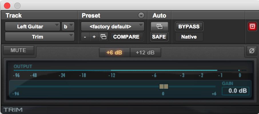 Trim Pro Tools audio plugins