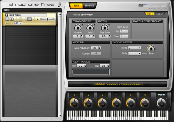 AIR Structure Free audio plugin for Pro Tools DAW software