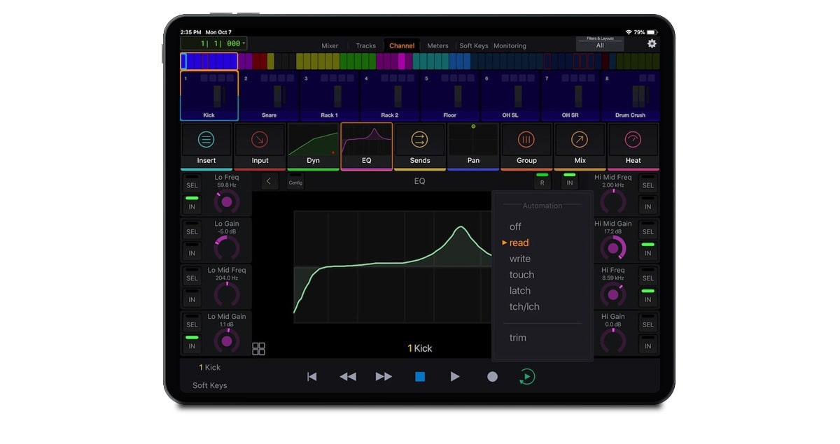 Avid-Control-Gallery-Channel-view