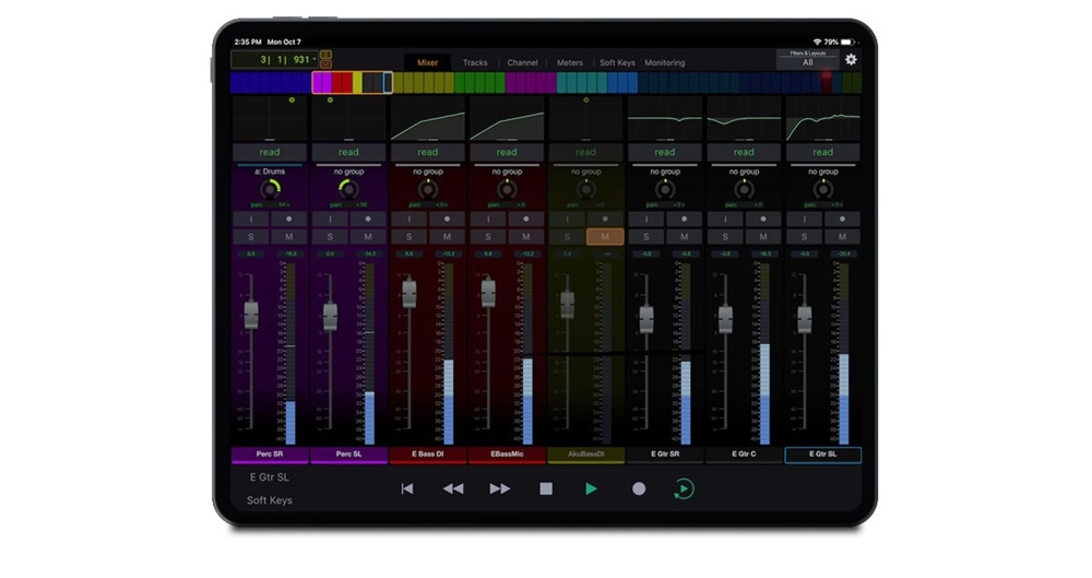 Avid-Control-Gallery-Mixer-view