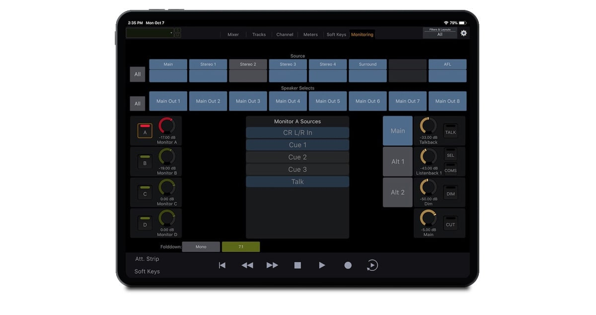 Avid-Control-Gallery-Monitoring-view