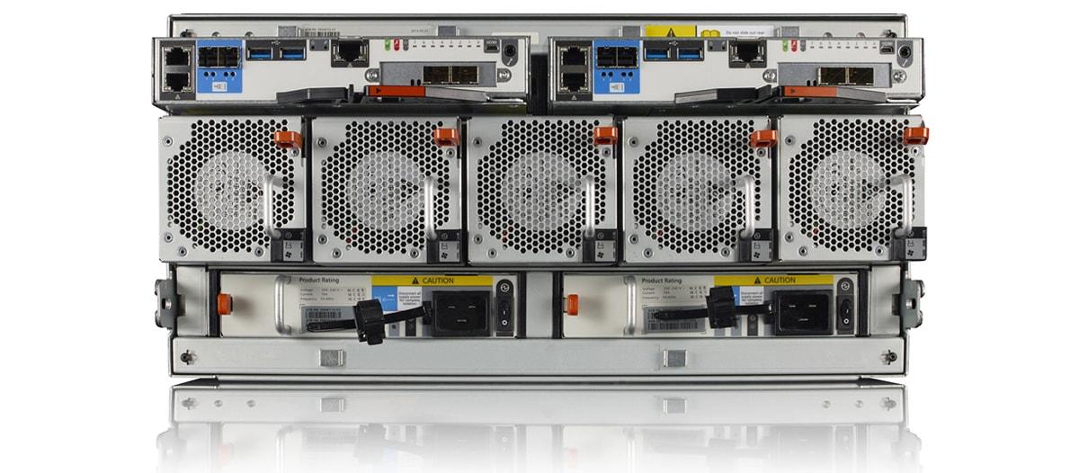 Avid NEXIS E5 nearline storage system rear hardware