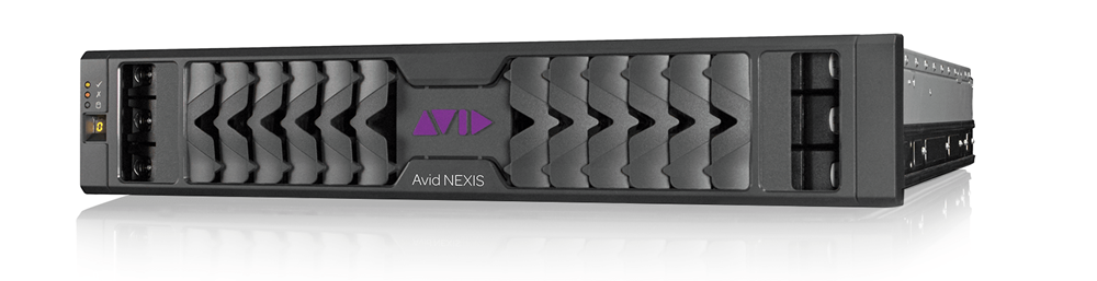 Avid NEXIS PRO shared media storage hardware front