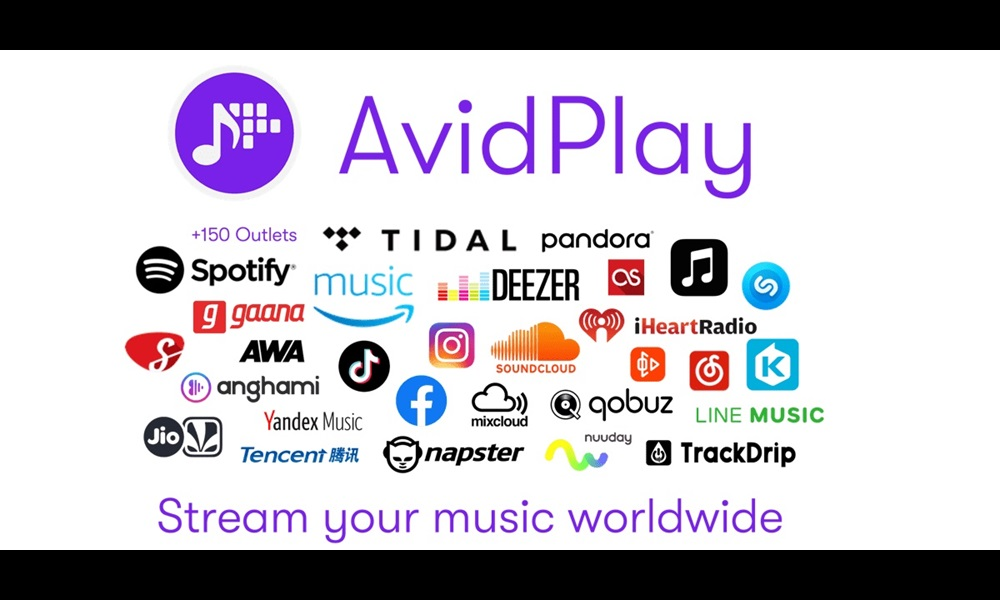 AvidPlay distribution plans interface with tab set on outlet details