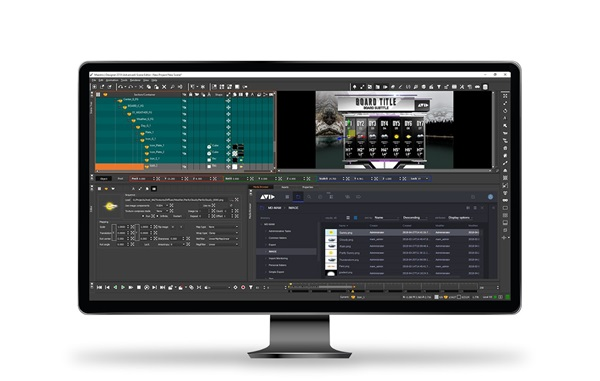 Interface of Maestro Designer 3D animation software
