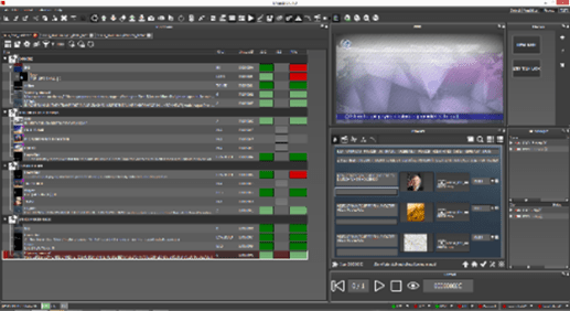 Interface of Maestro Controller for live graphics