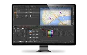 Maestro Designer and Maestro News used to create 3D live graphics