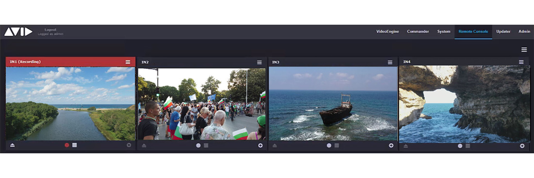 MediaCentral | Stream – Stream IP contribution into Avid production