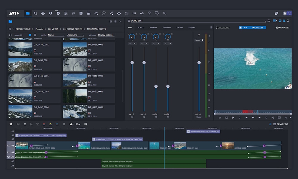 Enable assistants, story producers, and other contributors to prep content for the editing team from anywhere, using any device.