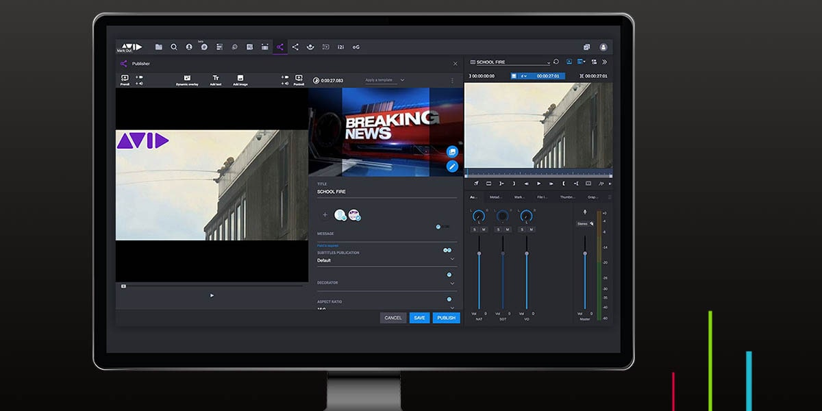 Learn about new key MediaCentral® features and tools for managing the modern newsroom