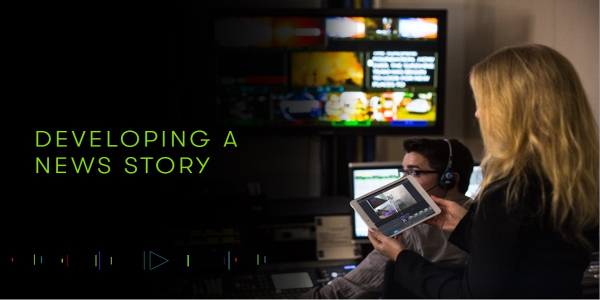 Develop a news story from anywhere using Avid's mobile journalism tools