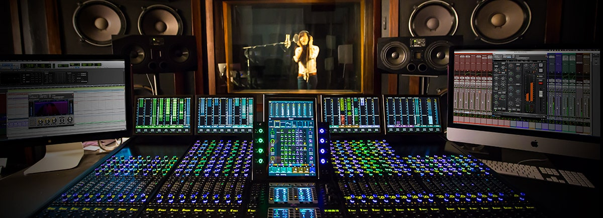 The professional DSP tracking and mixing experience