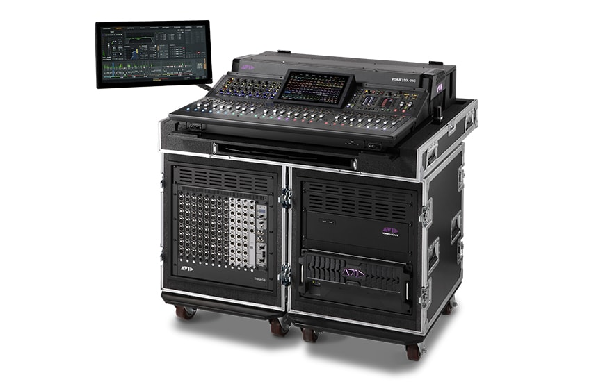 Avid VENUE S6L 24C digital mixer for tours and festivals