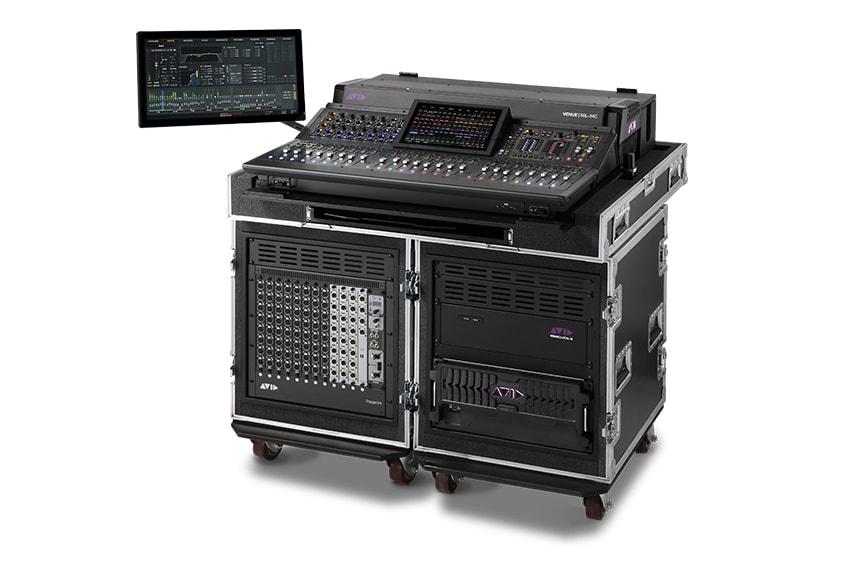 Avid VENUE S6L 24C digital mixer for tours and festivals