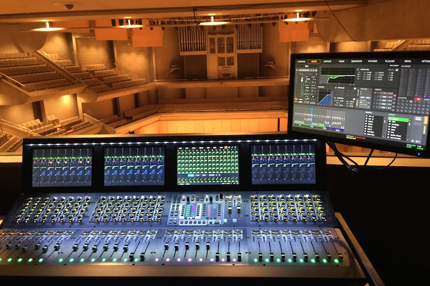 Roy Thomson Hall using a VENUE S6L mixer console