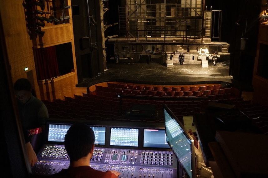 Iceland National Theatre with an Avid VENUE S6L mixer console