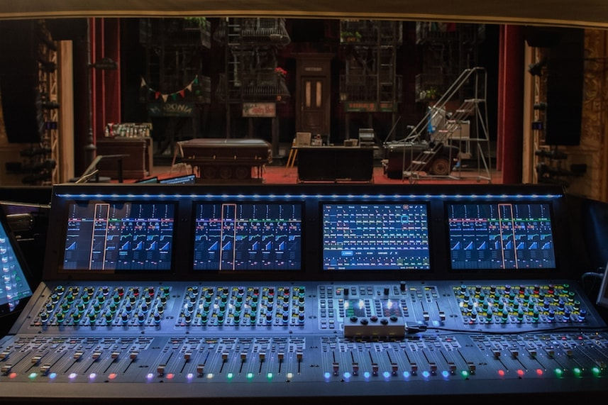 Bronx Tale using an Avid VENUE S6L mixer console on Broadway