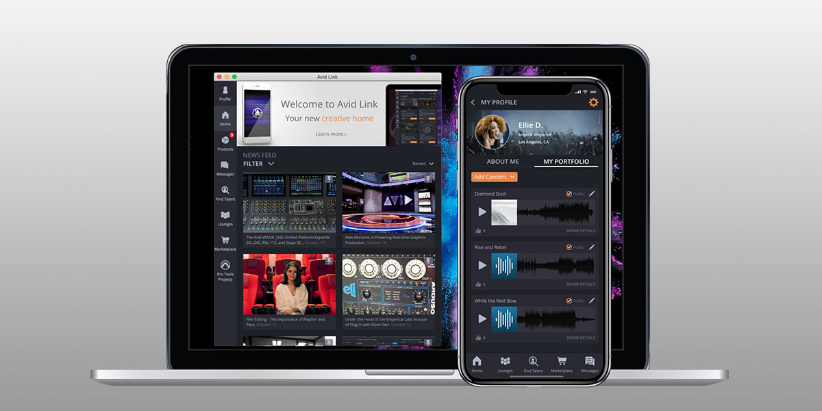 Avid Link creative community app for content creators