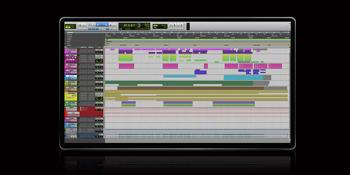 Pro Tools 2020 NAMM UI User Interface Post Production Audio Event