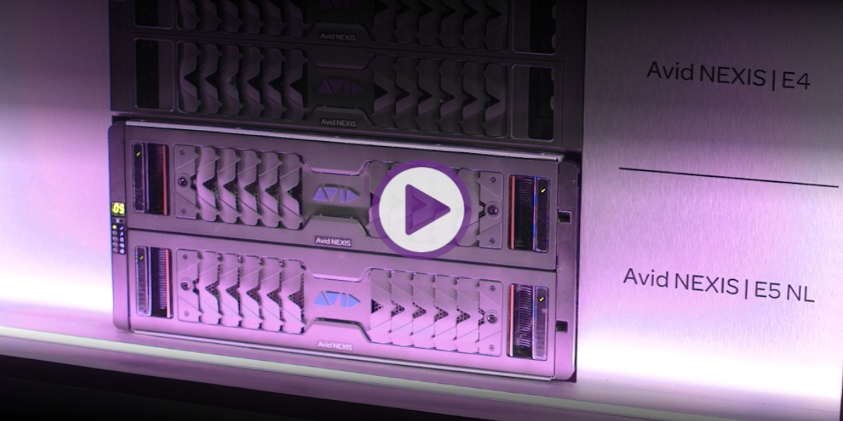 Real-time video production storage with Avid NEXIS hardware video