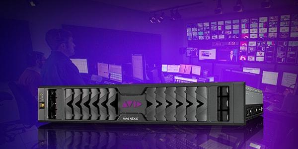 Collaborative media production with Avid NEXIS hardware