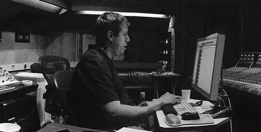 Darrell Thorp in studio